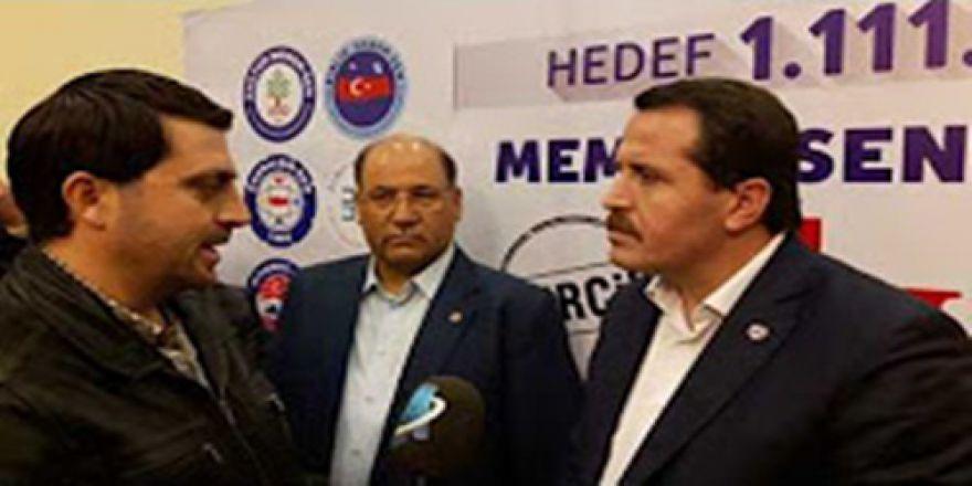 Ali Yalçın: '16 Nisan'a kadar yine meydanlardayız…'