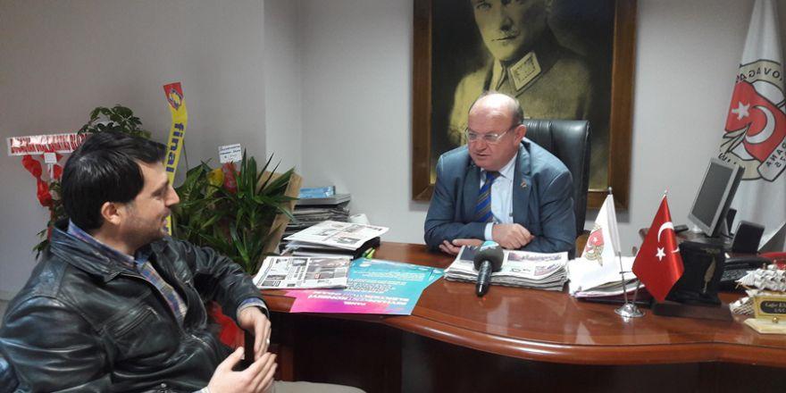 Başkan Esendemir, TV A Haber Müdürü Kılınç'a Çok Özel Açıklamalar Yaptı..