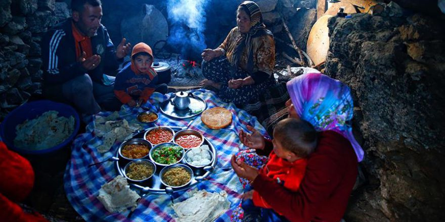 Erciyes yaylalarında ramazan
