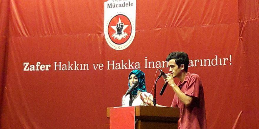 Adanalı Genç Mücadeleci Aykut Özdemir'den 'Bayrak Şiiri'