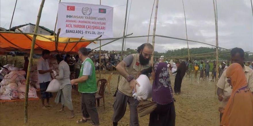Arakanlı Müslümanlar, Türk yardım kuruluşlarının yardım faaliyetlerine minnettar