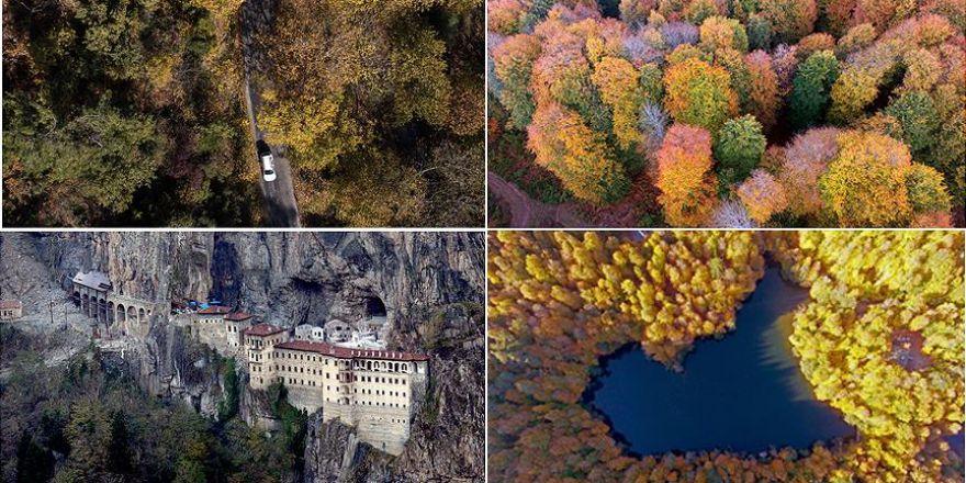Türkiye'nin cennet köşelerinde sonbahar