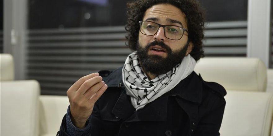 """Filistinli yönetmenin """"Özgür Kudüs"""" hayali"""