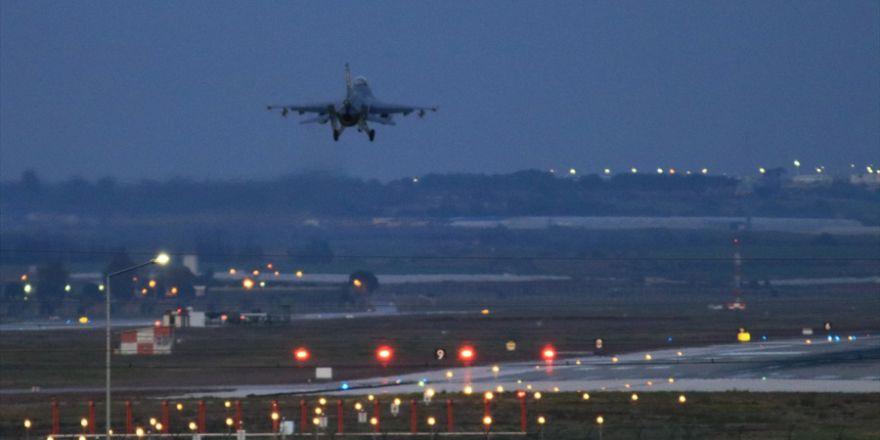 İncirlik Hava Üssü'nde Savaş Uçağı Hareketliliği..