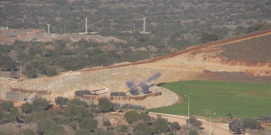 Terör mevzileri savaş uçakları, helikopterler ve topçu birliklerince vuruluyor