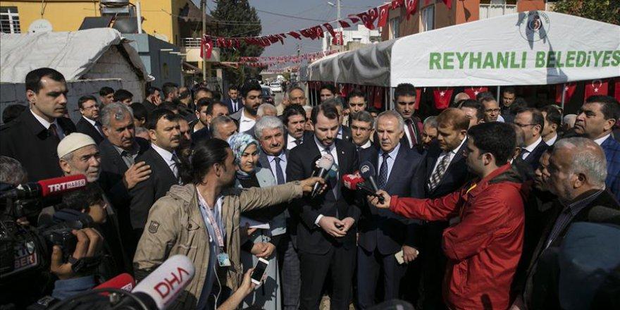 Enerji ve Tabii Kaynaklar Bakanı Albayrak Hatay'da