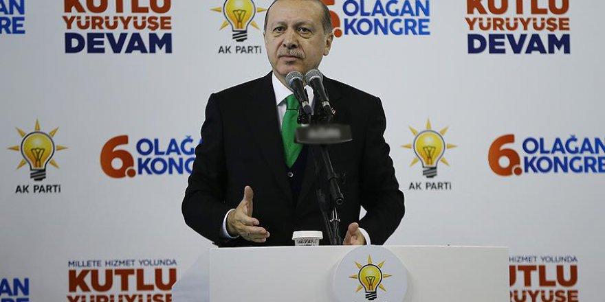 Erdoğan: Bizimle ortak bir geleceğe yürümek isteyenlere ellerimiz daima açık