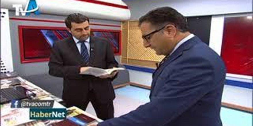 Şair, Yazar Hayati Koca, TV A Haber Müdürü Kurtuluş Kılınç'ın Canlı Yayın Konuğu Oldu.