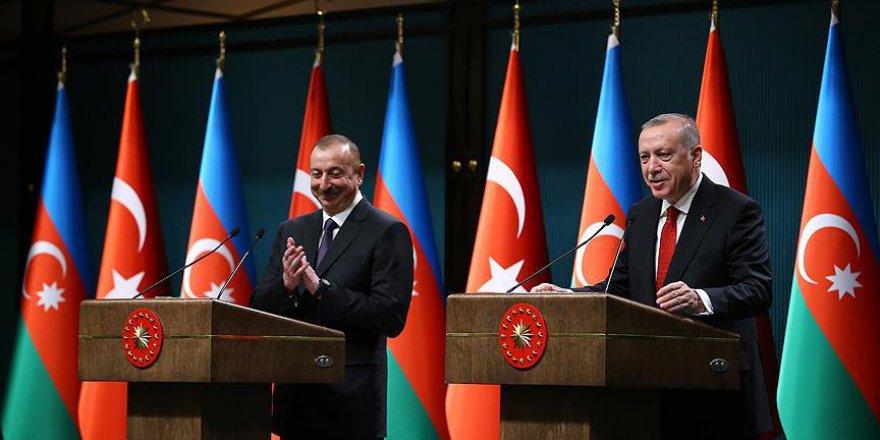 Erdoğan: Azerbaycan'la yeni projeleri hayata geçireceğiz