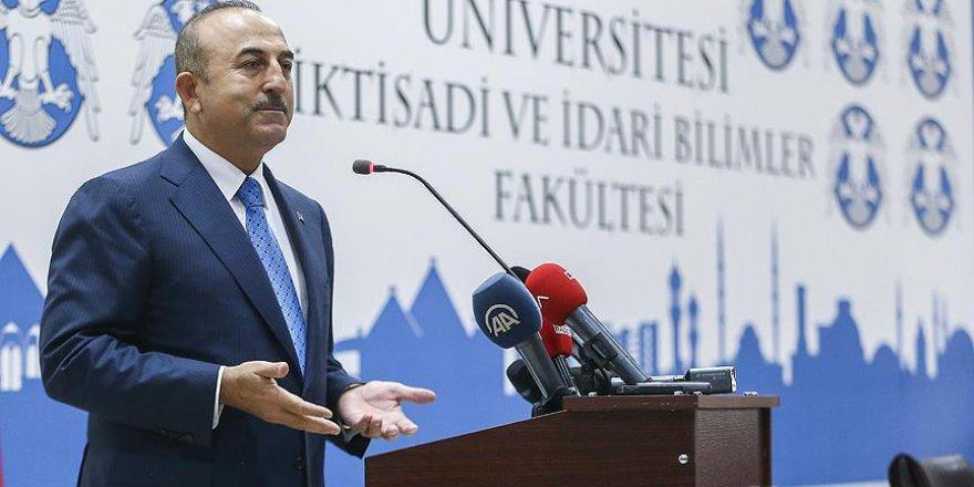 Çavuşoğlu: Bağımsız bir Filistin devletinin tanınması için gece gündüz çalışacağız